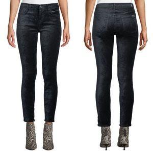7FAMK | The Ankle Skinny Super Skinny Velvet Jean